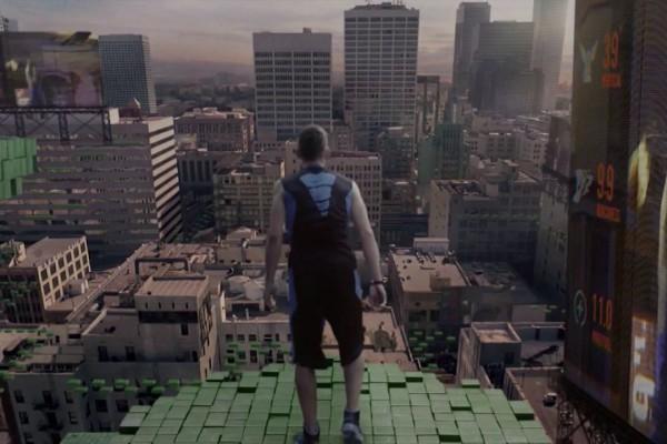 見る者を虜にする60秒の映像!日常の運動をゲーム化した斬新な世界