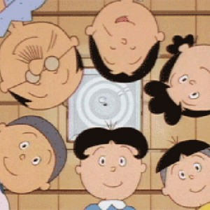 恐ろしい遺伝子wサザエさん一家の髪型を入れ替えてみると…