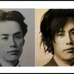 【やっぱりイケメン】明治期作家たち(4人)の髪型を現代風に変えてみると…