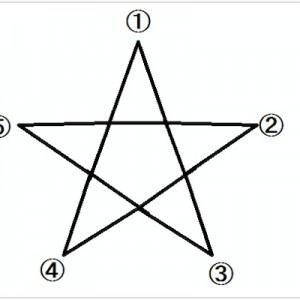 【初めて知った】一筆書きの「星」の書き始めって、みんな同じだと思ってた…