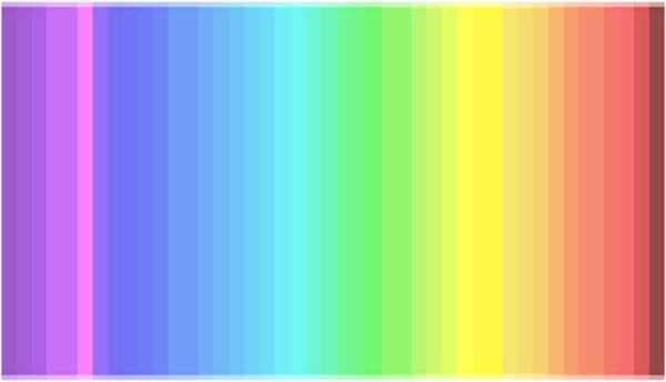 色_【何色見えますか?】全ての色が見えるのは4人に1人という