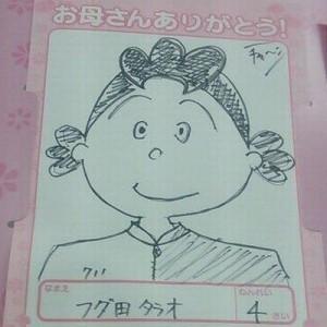 【偶然見かけた】母の日「似顔絵コーナー」のイラストが凄いことになってた7枚