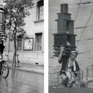 これぞ職人技!昭和のそば屋の出前風景がアート写真だと海外で話題に(7光景)
