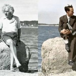 【画像】歴史的に有名な白黒写真をカラー化したら更に美しかった16枚