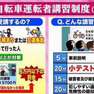 【知らなかったではダメ】イラストでよくわかる「自転車運転者講習制度」の内容