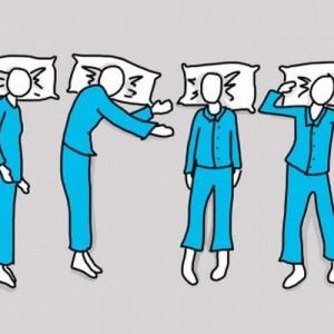 【あなたの寝方はどれ?】おもしろい!6パターンの寝相で分かる性格診断(画像)