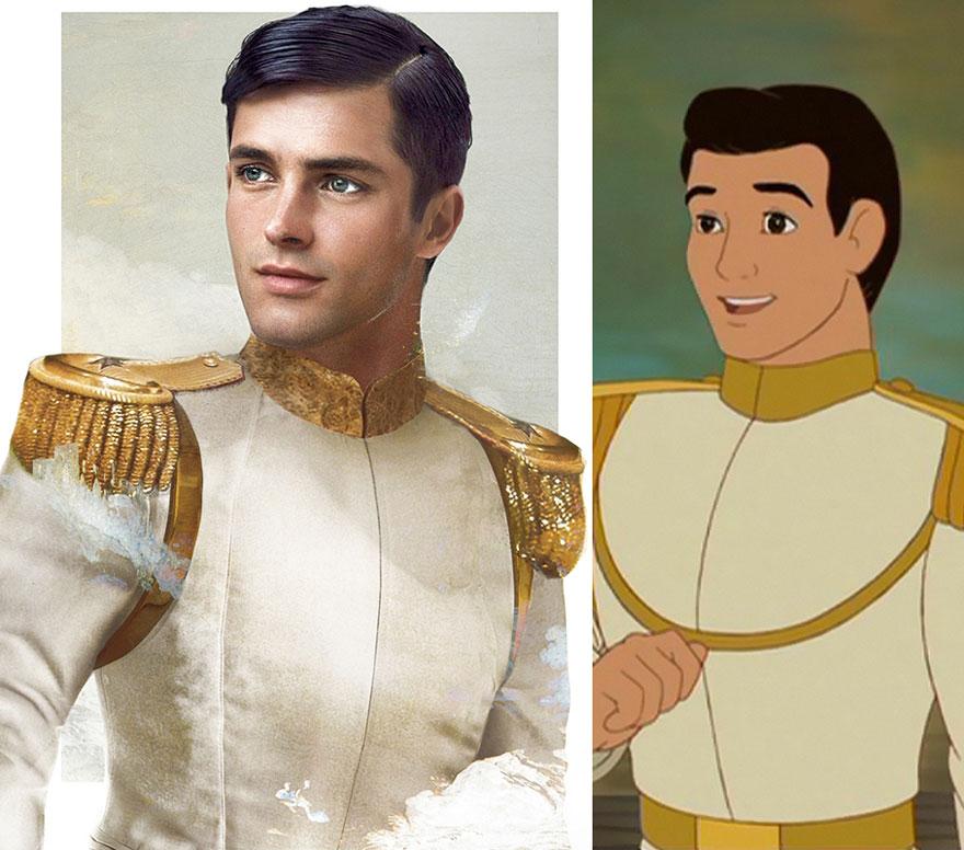 あなたは誰がタイプイケメンすぎディズニーアニメの王子様を実写