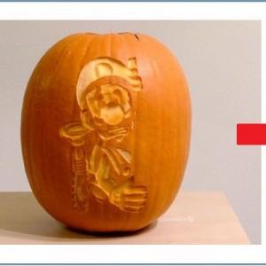 思わぬ仕掛けが!ハロウィン用に彫られた「ルイージのかぼちゃ」が凄い【4枚】