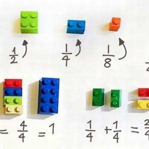 小学校の先生は考えた!「LEGOブロックを使った分数の教え方」がナイス(画像5枚)
