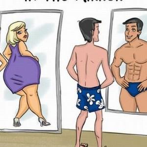 【確かに、わかる!?】イラストで描かれた「男」と「女」の違うとこ(8枚)