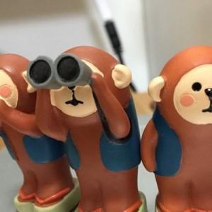 【ポジティブすぎる三猿】あなたの心をぽっかぽかにします!(8選)