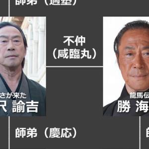 【一人何役w】幕末ドラマに出演した「武田鉄矢」をまとめてみたら…(2枚)