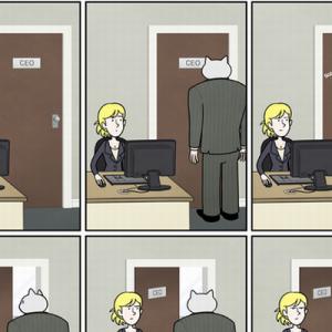 わかりすぎて腹がよじれる!(笑)もしも猫がビジネスマンだったら【漫画10枚】