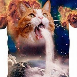 【どうしてこうなったw】アマゾンで売ってる猫デザインTシャツの世界観が面白すぎる件(5枚)