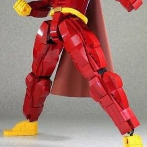 元気100倍どころじゃない!(笑)レゴで作ったアンパンマンがカッコ良すぎた【画像】