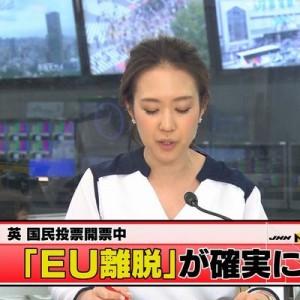 「ほんとブレない」・「安定のテレ東」各局ニュースはEU離脱、『その頃テレビ東京は…』が話題