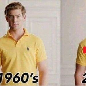 【2080年にはこうなってる】ラルフローレンのシャツに対する『未来予想』が斜め上だった(笑)