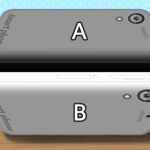 Aが黒でBが白、この間に指を置いてみると…!自分の目が信じられなくなる錯視8選