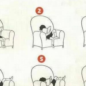 わかりすぎて辛い!(笑)ソファで読書しているときにやってしまう12の基本姿勢