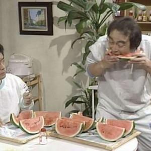 【やっぱり考えることが違うな…!】志村けんのスイカ早食いには仕掛けがあった、「マジか」