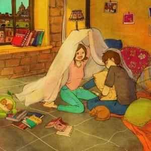日常にある『何気ない愛』と『幸せ』、「こんなカップル憧れる」と思わせてくれるイラスト12枚