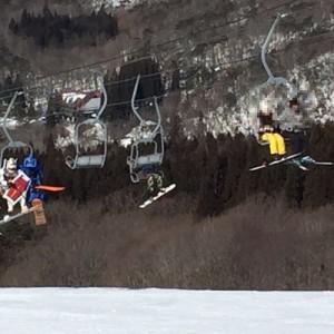 脳が混乱している!(笑)「スキーに行ってる兄から届いた現地の写真を見てみたら」4枚