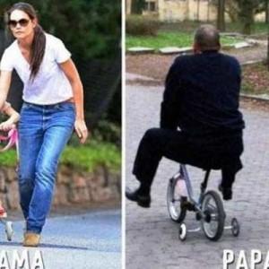 子育てスタイル…こんなに違う!(笑)「ママとパパの違い」比較8枚