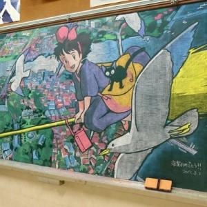 消すのがもったいない!愛とクオリティに感動する「卒業の日の黒板アート」9選