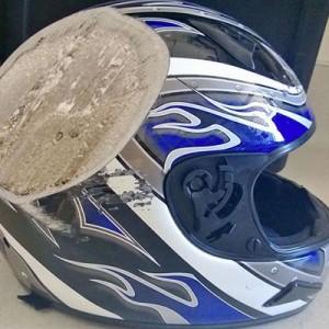 【言葉は要らない説得力】「ヘルメット」の重要さが一目でよくわかる画像10連発