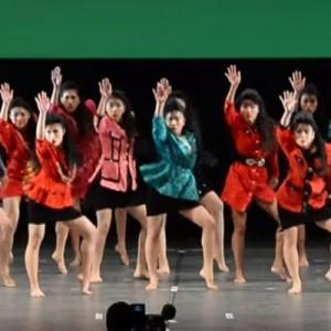 バブリー!日本高校ダンス部選手権で準優勝した大阪府立登美丘高等学校のダンス「クセになる!w」