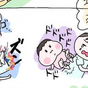 どこの家庭も大体同じ!(笑)理想と現実を描いた「育児絵日記」に泣き笑う!5枚