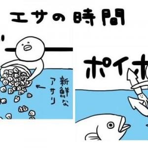 【今この四コマが面白い!】「文系で水族館に就職した人」の日常漫画が最&高!笑