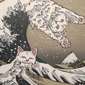 このシュールさ、クセになる!(笑)猫を溶け込ませた「猫絵画」がジワジワ度MAX【10選】