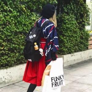 アレンジした着物で街を歩いていたら『おば様』が一言!こういうのはもっと広まってほしい!