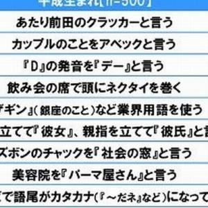 【ベスト15が…これだ!】平成生まれが「この人は昭和生まれだな」と感じる言動