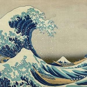 葛飾北斎は物凄い動体視力の持ち主だった!?波を1/8000秒で止めてみた写真が話題に