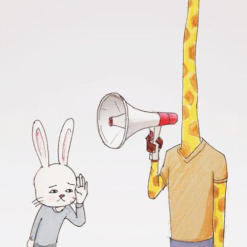 絶対笑います 笑 一枚漫画のキリンのイラストがツボ ツボ15枚 Corobuzz