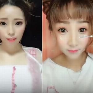 驚きを隠せない!中国人女性たちのメイク『ビフォー・アフター』が衝撃的すぎた