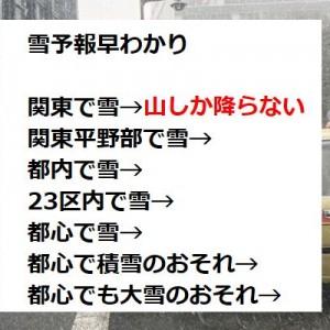 みんなが爆笑した解説!(笑)関東の『雪予報の真実』が「わかりやすいw」・「なるほどw」