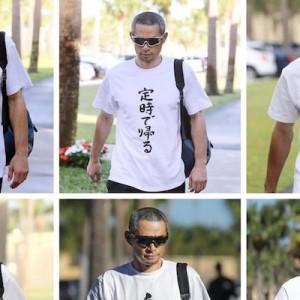 今後も披露してください!引退してもイチローのおもしろTシャツは見たい(笑)