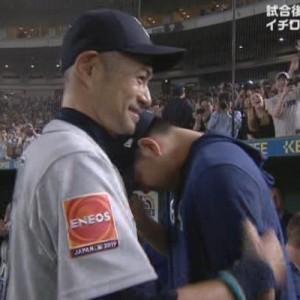 イチローが現役引退、菊池雄星にハグをしながら「掛けた言葉とシーン」が泣ける…