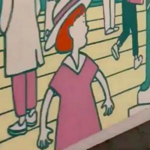 渋谷の工事中のシャッターの絵に泣いてしまう。「これはスゴイ」・「めっちゃドキドキした」