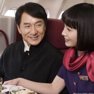 ジャッキー・チェンさんとCAさんの航空会社のこの広告!→みんなが一斉に突っ込んだこと(笑)