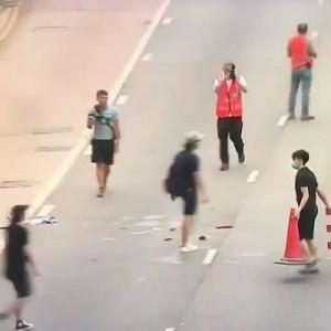 「民度が高い」・「素晴らしい」香港のデモ後、カメラに撮影されていたのは…