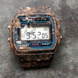 子供の頃に無くした、日本のメーカーの時計が20年ぶりに家の庭から発見→驚きの光景が起こっていた