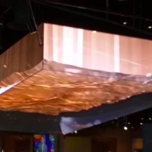 ラスベガスのカジノにあるという天井の仕掛けが!「どうなってるの」・「これはすごい」